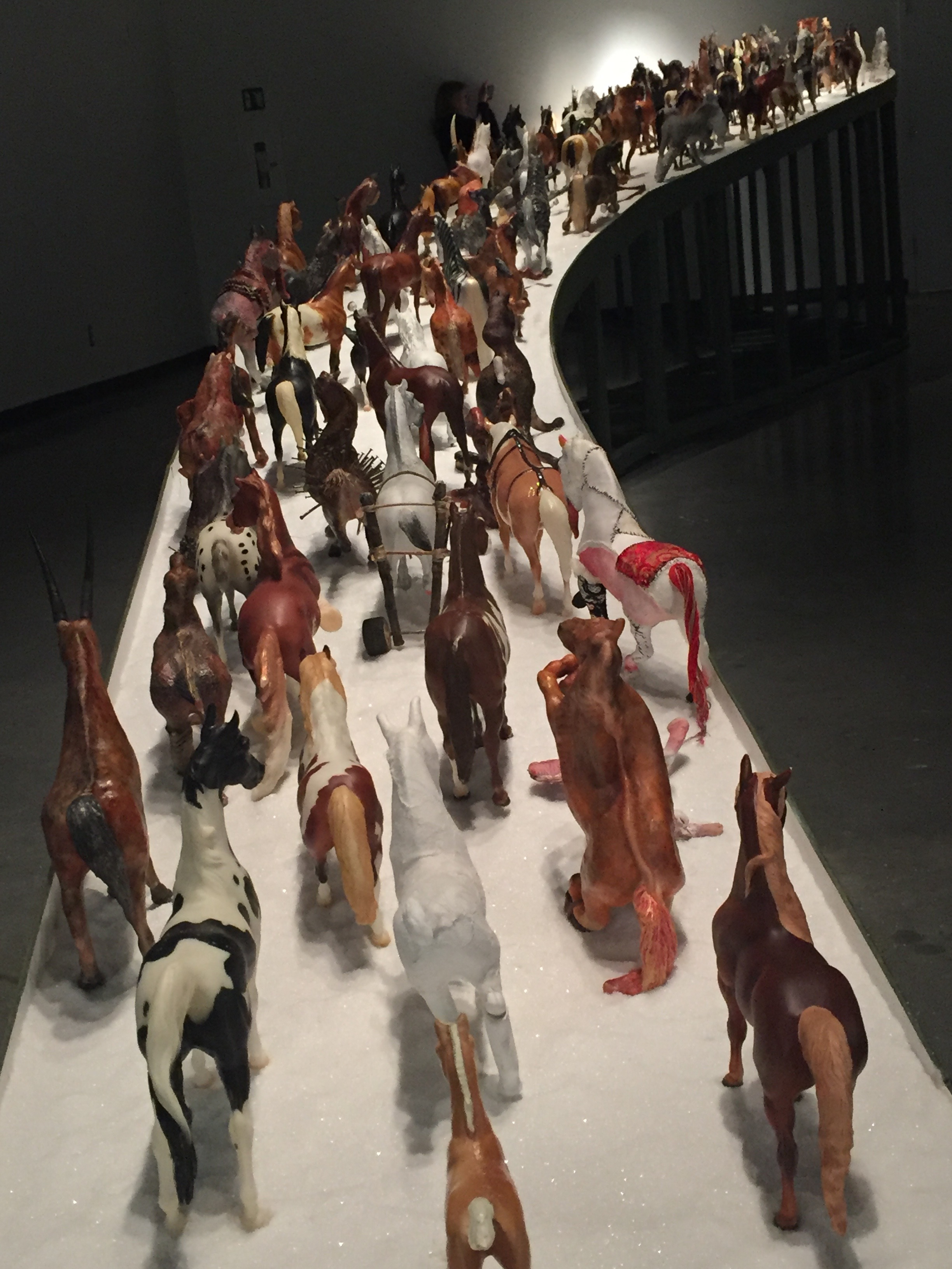 HERD Installation at OSA Gallery