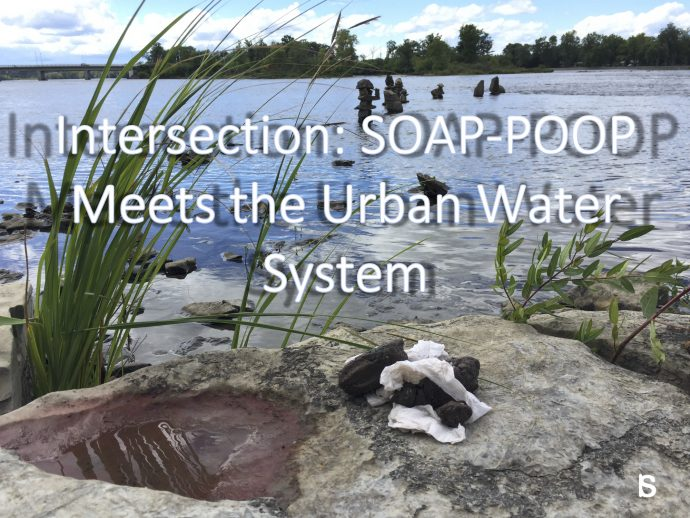 SOAP-POOP Meets the Urban Water System